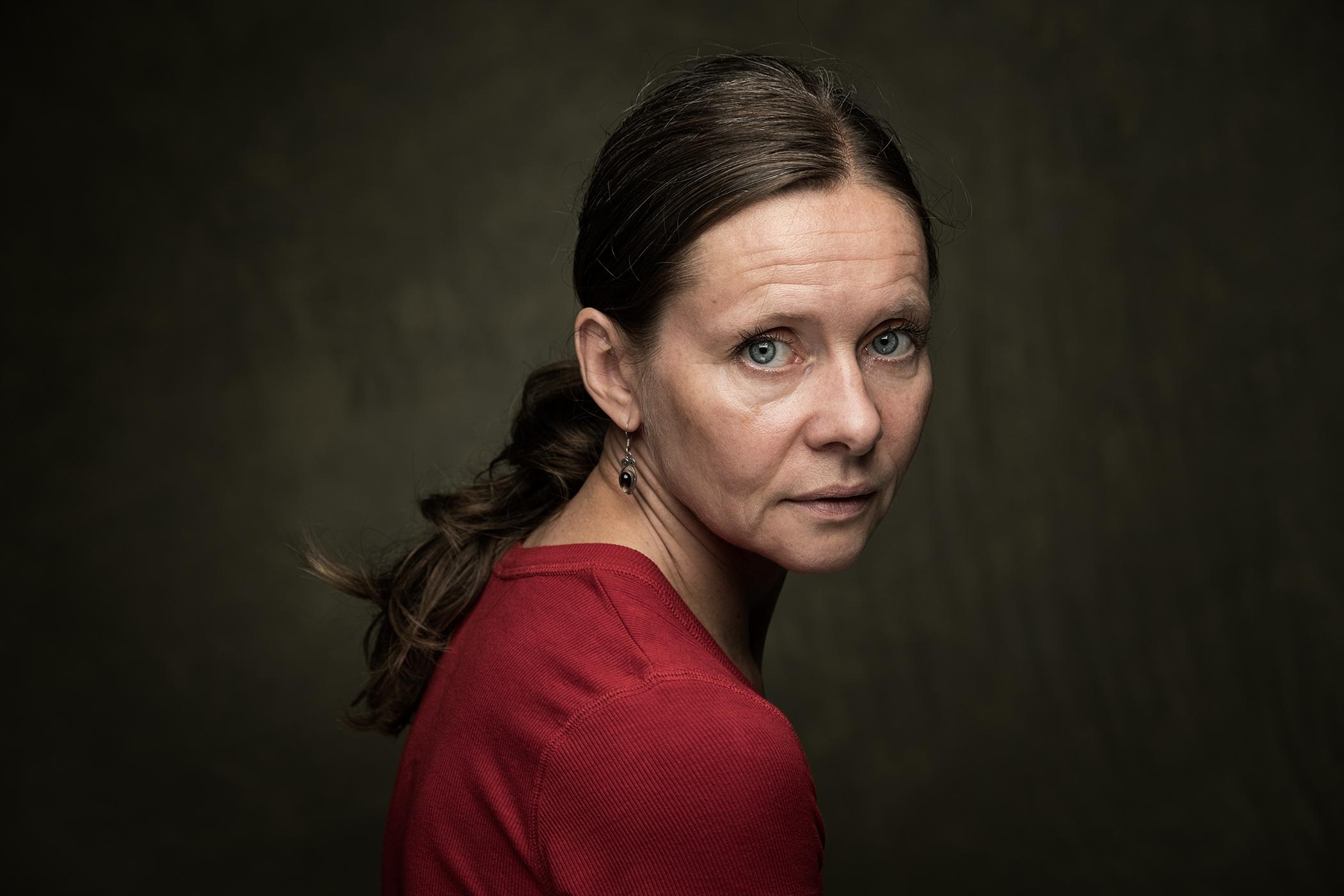 Susanne Middelberg, portret, portrait, dansers, dancer, actrice, actress