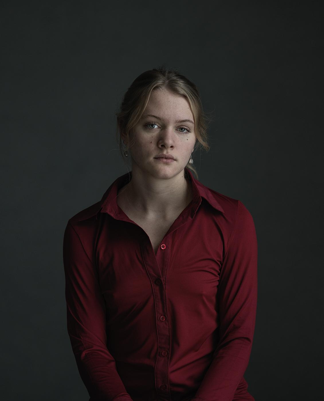 portrait of Brechje, Susanne Middelberg, Portrait, portret, portretfotografie,