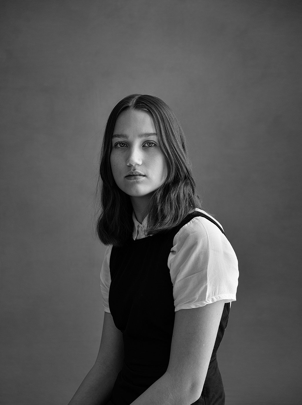 portret, portrait, black&white, portrait of Merle, Susanne Middelberg