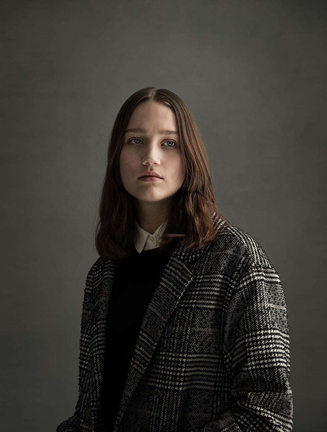 portrait of Merle, portret, portrait, Susanne Middelberg,