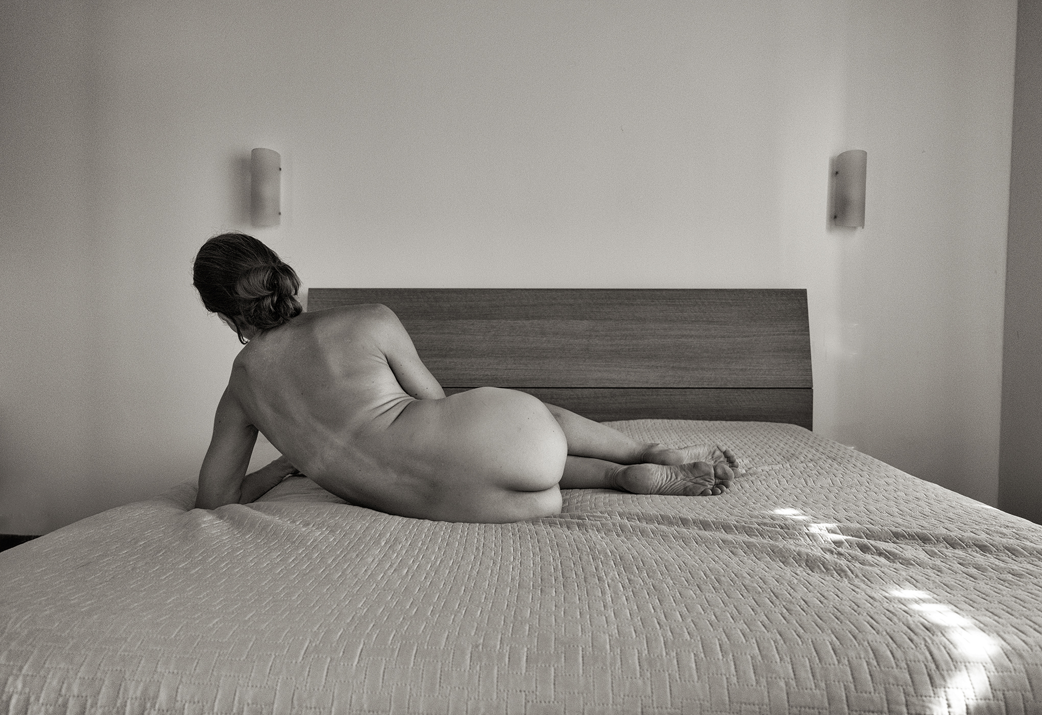 Susanne Middelberg, portrait , Black & white