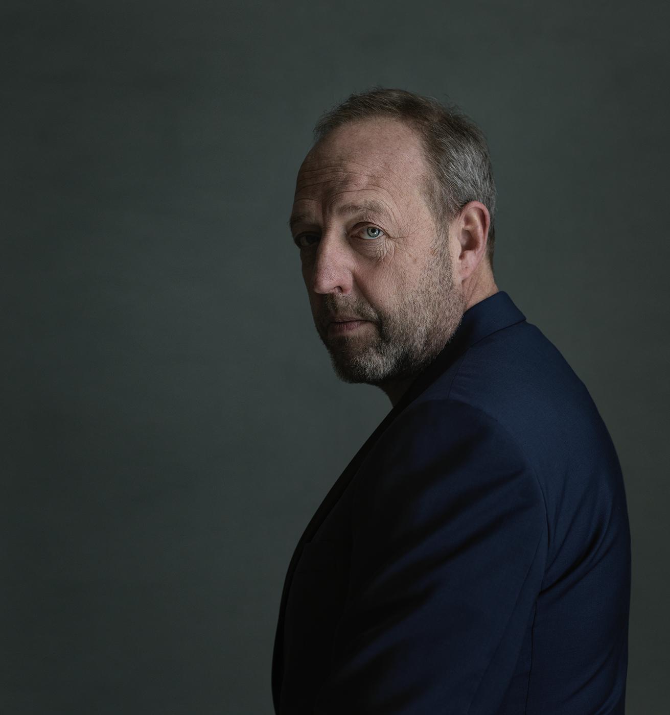 portret, portrait, portrait of Harry Piekema, Susanne Middelberg, actor, Schauspieler